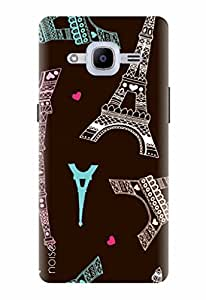 Noise Designer Printed Case / Cover for Samsung Galaxy J2 Pro - 6 (New 2016 Edition) / Patterns & Ethnic / Eiffel Design