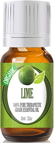 Lime (Organic) 100% Pure, Best Therapeutic Grade Essential Oil - 10Ml