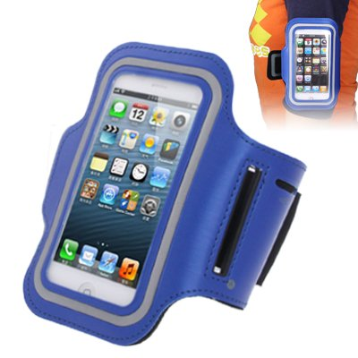 Product Ace Sports Armband Case With Earphone Hole For Iphone 5 & 5C & 5S Hot & New! (Blue Skylight)