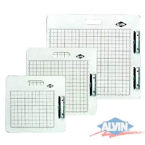 Alvin Artist Sketch Board- Gridded White 18-1/2x19-1/2 Inch
