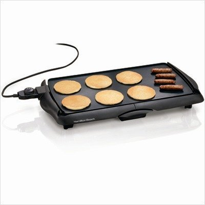 Hamilton Beach 38515 Electric Griddle Home Supply Maintenance Store