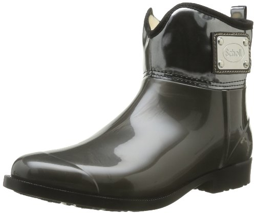 Scholl Women's Argoney Boots Gray Gris (1021 Gris Foncé) 7 (41 EU)