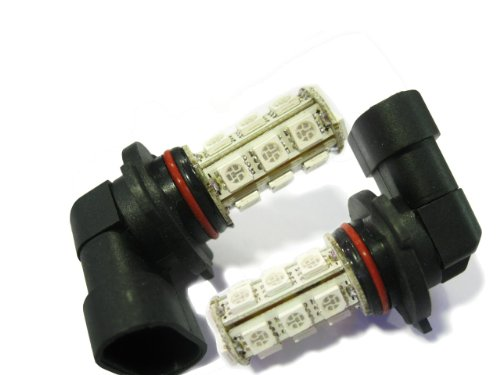 2 X 18 Led 5050 Smd 9005 Hb3 Car Automotive Fog Light Lamp Bulb Red 12V