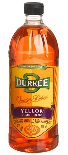 Durkee Yellow Food Color, 32-Ounce Bottles (Pack of 2)