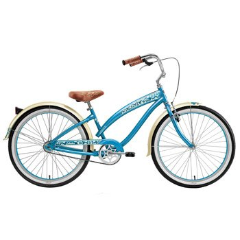 Nirve Lahaina 26in Ladies 1-Speed Cruiser Color: Turquoise