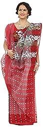SHRI BALAJI SILK & COTTON SAREE EMPORIUM Women's Cotton Silk Saree (1(12))