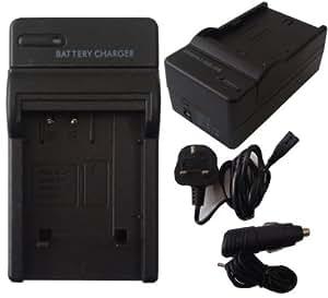 Mobilizers - Chargeur de Batterie de remplacement Caméscope pour PANASONIC DMW-BCF10e DMWBCF10e pour LUMIX DMC-FX DMC-FP DMC-FT DMC-FS models