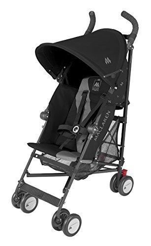Maclaren Triumph Stroller, Black/Charcoal - 1