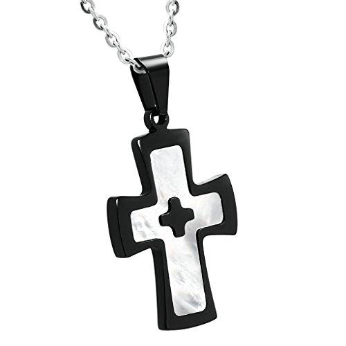 bishilin-acier-inoxydable-epoxy-email-noir-croix-collier-pendentif-pour-femme-homme-taille-28x3cm