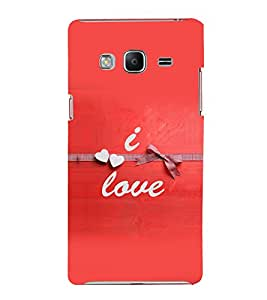 printtech Love Quotes Back Case Cover for Samsung Z3 :: :Samsung Z300H/DD