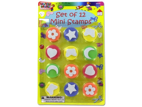 Foam mini stamps - Case of 108 Foam mini stamps - Case of 108