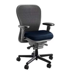 Mesh Back Cxo Heavy Duty Big And Tall Office Chair Fabric Mystic Black Headrest