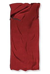 L.L.Bean Cabin Fleece Sleeping Bag Red