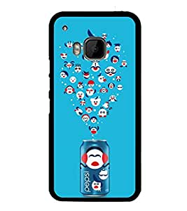 Popular Cold Drink 2D Hard Polycarbonate Designer Back Case Cover for HTC One M9 :: HTC One M9S :: HTC M9 :: HTC One Hima