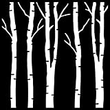 That Special Touch Mask - Birch Trees