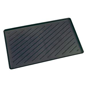 "Amazon.com: W.J. Dennis Boot Tray 14"" X 24"" Black"