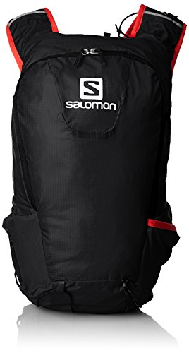 Salomon Skin Pro 15 Set Zaino - Ss16 - Taglia Unica, Colore Nero/Rosso