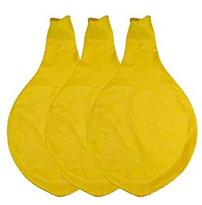PMU 36 Inch Latex Balloon Yellow Pkg/3
