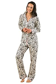 BedHead Eiffel Tower Classic Stretch USA made PJ Set