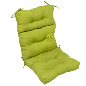 Greendale Home Fashions Indoor/Outdoor High Back Chair Cushion, Kiwi by Greendale Home Fashions