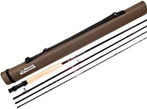 Stone Creek Cutthroat Series Fly Fishing Rod 85 Feet 4 Weight 4-piece with Tube
