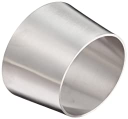 DixonB32W-G300250P Stainless Steel 304 Polished Fitting, Weld Eccentric Reducer, 3\