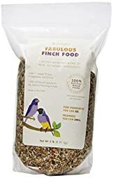 Dr. Harvey\'s Fabulous Blend Natural Food for Finches, 2-Pound Bag