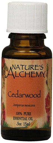 Nature's Alchemy 100% Pure Essential Oil Cedarwood, 0.5 Fluid Ounce