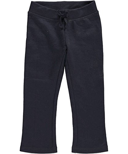 "French Toast Little Girls' Toddler ""Classic"" Active Pants - Navy, 4T front-925364"
