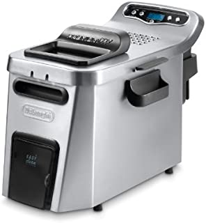 "DeLonghi EX-LARGE 3 POUND Dual Zone Deep Fryer with ""COOL ZONE"", Digital Timer and Timer"