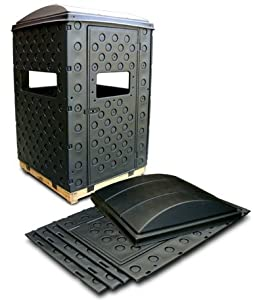 Snap Lock Formex 4 x 4 Portable Interlocking Deer Hunting Blind w  Windows by Snap Lock