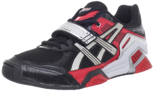 1e26fbc30e02b3 Feature of ASICS Men s Lift Trainer Running Shoe Black Silver Red 10 5 M US