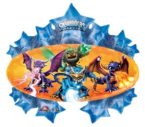 "35"" party BALLOON SKYLANDERS giants FAVORS fun VHTF from anagram"