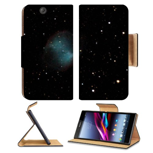 Galaxy Stars Universe Black Space Sony Xperia Z Ultra Flip Case Stand Magnetic Cover Open Ports Customized Made To Order Support Ready Premium Deluxe Pu Leather 7 1/4 Inch (185Mm) X 3 15/16 Inch (100Mm) X 9/16 Inch (14Mm) Msd Sony Xperia Z Ultra Cover Pro