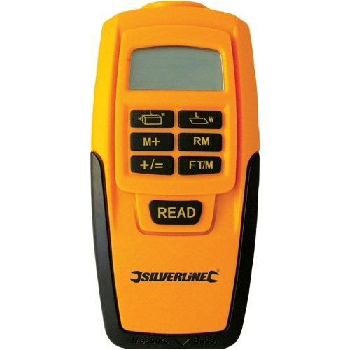 Silverline 255664  Digitaler Entfernungsmesser, 0.6-15 m