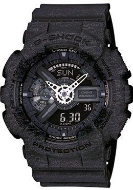 Casio-G-Shock-Heathered-Black-Dial-Resin-Quartz-Male-Watch-GA110HT-1A