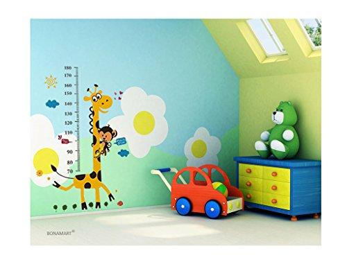 bonamart niedlich giraffe abnehmbare schlafzimmer kinderzimmer wandtattoo spr che kinderzimmer. Black Bedroom Furniture Sets. Home Design Ideas
