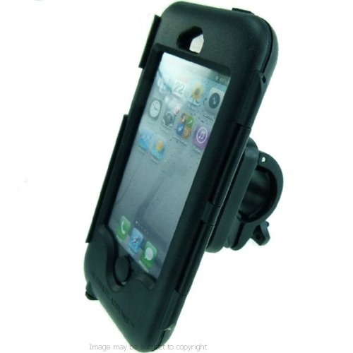 Best Price 'Easy Fit' IPX4 Waterproof Tough Case Motorcycle Bike Handlebar Mount for Apple iPhone 5 / 5S