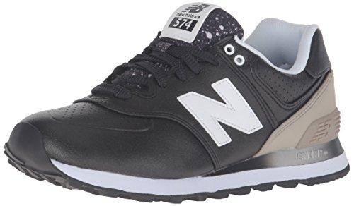 New Balance 574, Scarpe Running Donna, Multicolore (Black/Grey 003), 40 EU