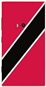 Lovely multicolor printed protective REBEL mobile back cover for Nokia Lumia 920 D.No.N-T-4986-N920