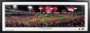 Boston Red Sox Fenway Park 2013 World Series Champions Panoramic Framed by Sports+Gallery+Authenticated
