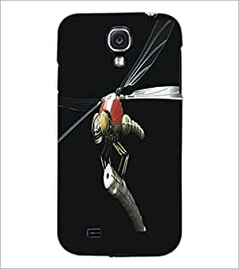 PrintDhaba Metaalic Fly D-5431 Back Case Cover for SAMSUNG GALAXY MEGA 6.3 (Multi-Coloured)