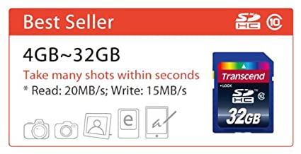 Transcend Premium 4GB Class 10 Memory Card