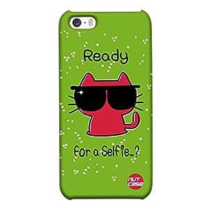 Designer iPhone 5S Case Cover Nutcase - Lets for a Selfie