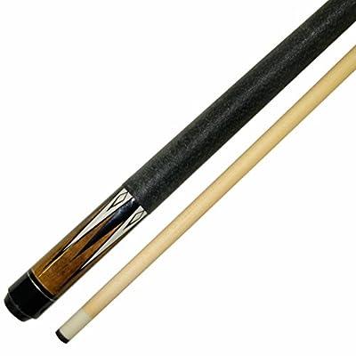 """Short 42"""" 2 Piece Hardwood Maple Pool Cue Billiard Stick 16 or 17 Ounce"""