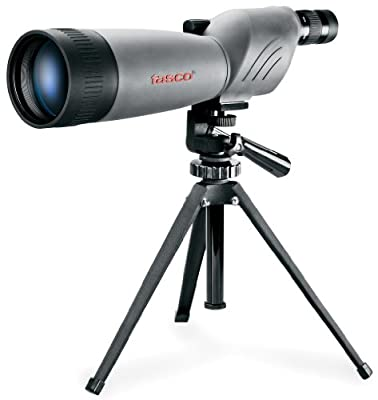 Tasco World Class 20-60x80 Zoom Waterproof/Fogproof Spotting Scope w/Tripod from Tasco