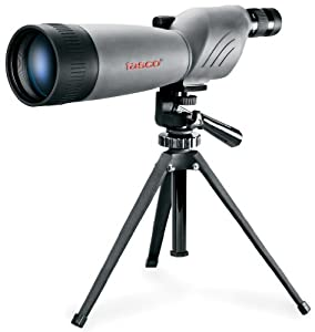 Tasco World Class 20-60x80 Zoom Waterproof/Fogproof Spotting Scope w/Tripod