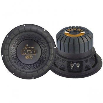 Lanzar Max12D Max 12'' 1000 Watt Small Enclosure Dual 4 Ohm Subwoofer