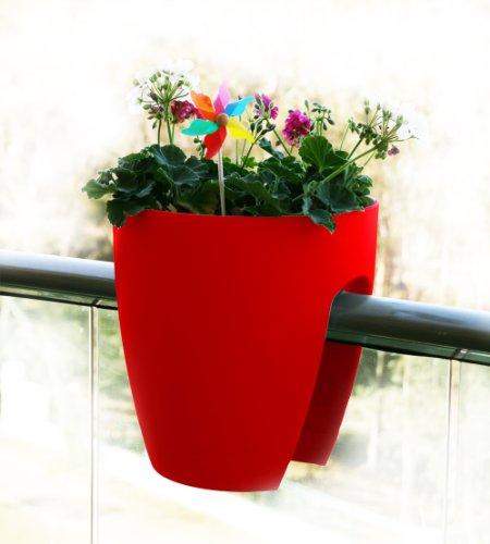 greenbo-planter-macetero-para-barandillas-de-hasta-10-cm-29-x-30-cm-color-rojo