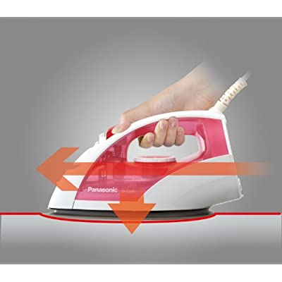 Panasonic NI-E200T 1200-Watt Steam Iron (Red)